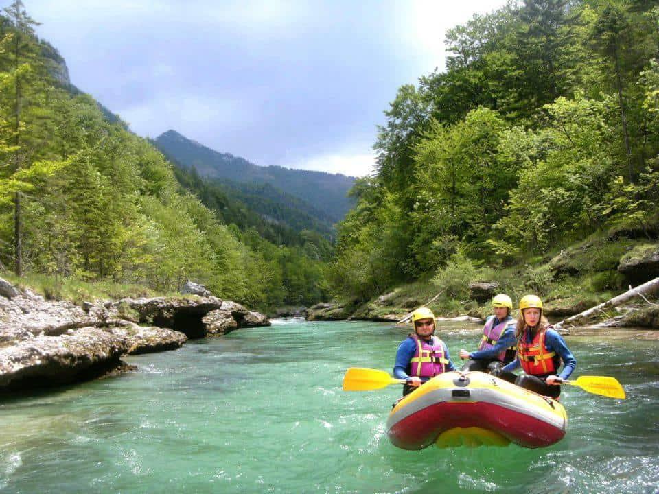 Alpesi szállás - www.alpesikaland.hu - rafting2
