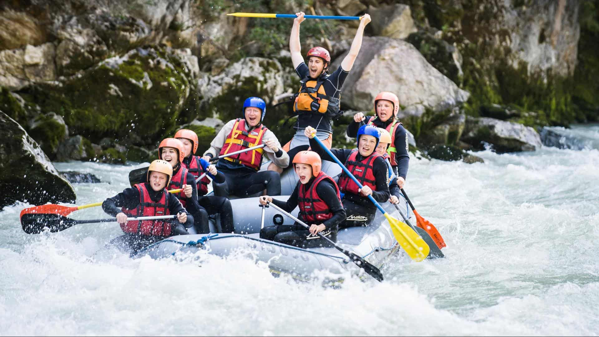 Alpesi szállás - www.alpesikaland.hu - rafting